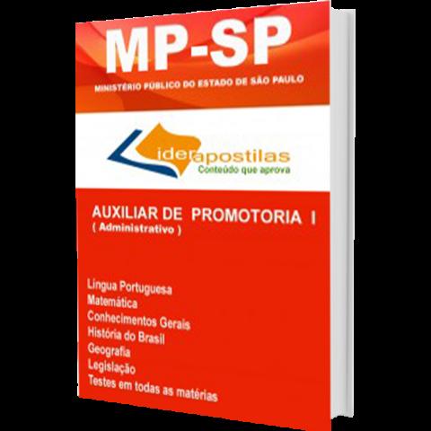 Apostila Auxiliar de Promotoria I - MP SP - Ministério Público