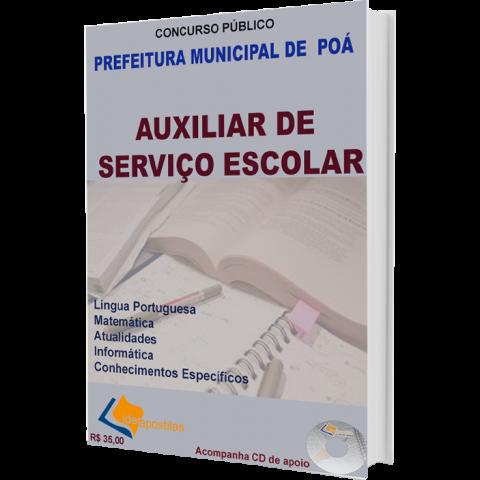 Apostila Auxiliar de Serviço Escolar - Prefeitura de Poá