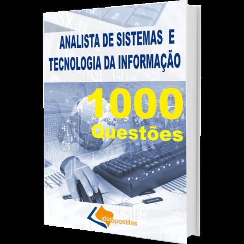 Apostila Concurso Analista de Sistema e Tecnologia da Informação