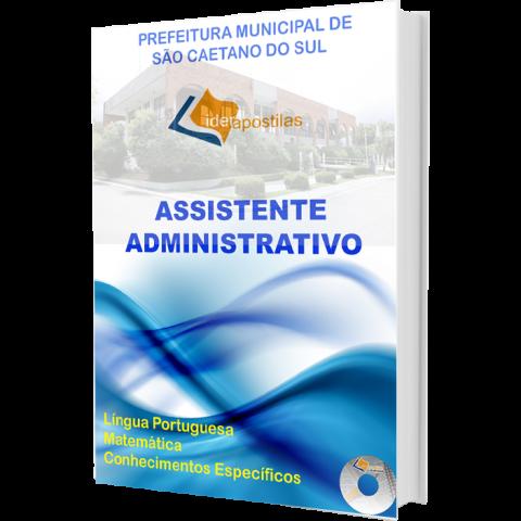 Apostila Concurso Assistente Administrativo Prefeitura São Caetano do Sul