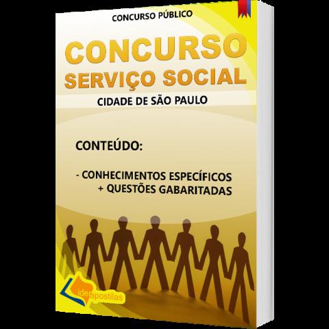 Apostila Concurso Assistente Social - Serviço Social  - preparatória