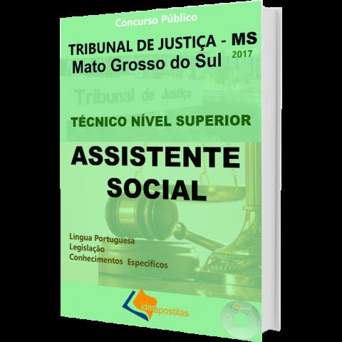 Apostila Concurso Assistente Social Tribunal Justiça Mato Grosso Sul - TJ MS
