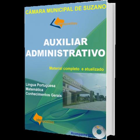 Apostila Concurso Auxiliar Administrativo Câmara Municipal de Suzano