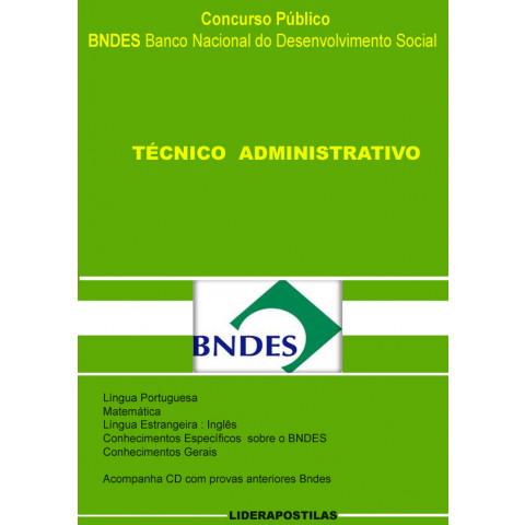 Apostila Concurso BNDES Técnico Administrativo