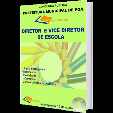 Apostila Concurso Diretor e Vice Diretor de Escola - Prefeitura de Poá