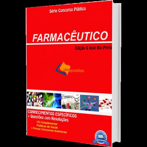Apostila Concurso Farmacêutico Prefeitura São Jose rio Preto