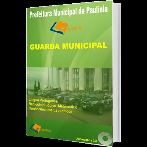 Apostila Concurso Guarda Municipal - Prefeitura de  Paulínia