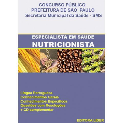Apostila Concurso Nutricionista Prefeitura de São Paulo