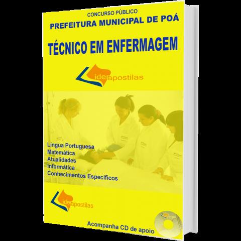 Apostila Concurso Técnico em Enfermagem da Prefeitura de Poá