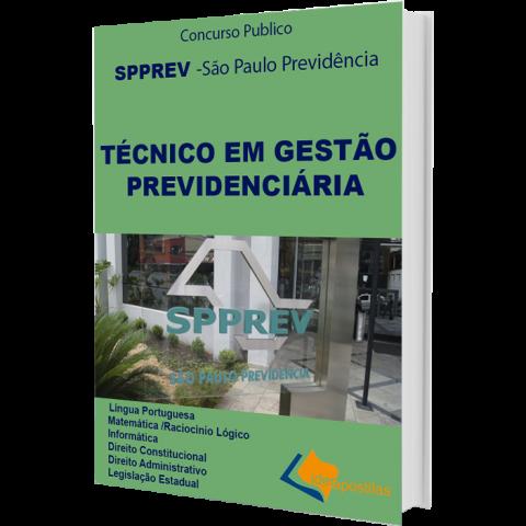 Apostila Concurso Técnico em Gestão Previdenciária SPPREV 2019