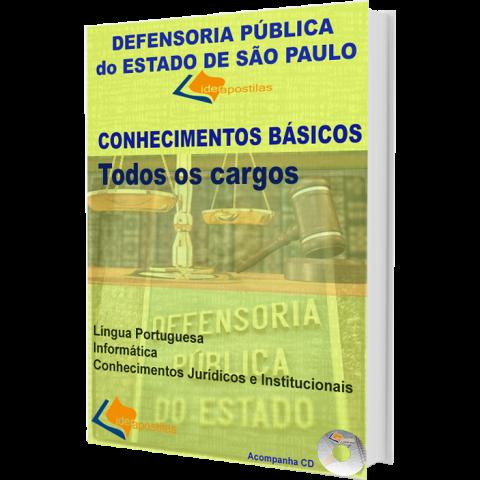 Apostila Defensoria Pública - Conhecimentos Básicos - Nível Superior.