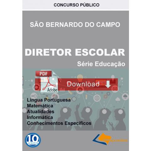 Apostila Diretor de Escola São Bernardo do Campo Download