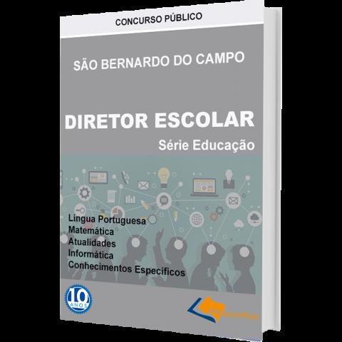 Apostila Diretor Escolar São Bernardo do Campo - impressa