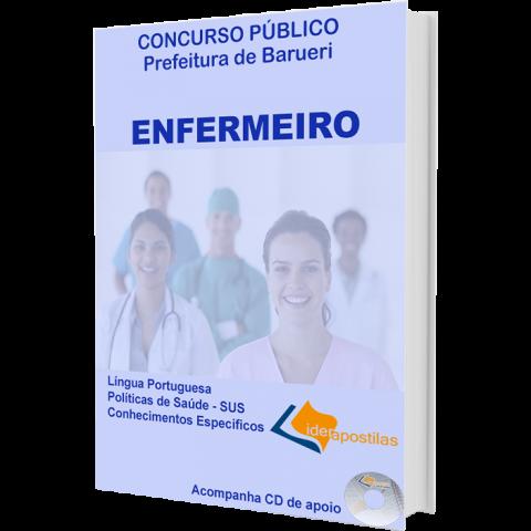 Apostila Enfermeiro - Concurso Prefeitura de Barueri