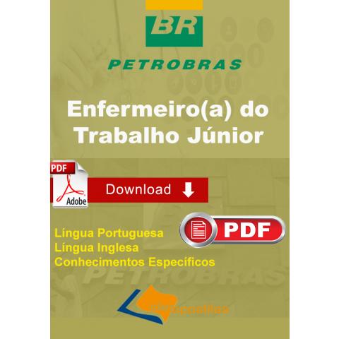 Apostila Enfermeiro do Trabalho Junior  Petrobras Transpetro Download