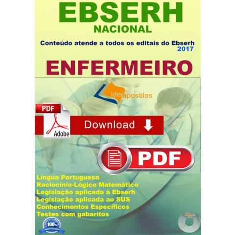 Apostila Enfermeiro Ebserh Download 2018
