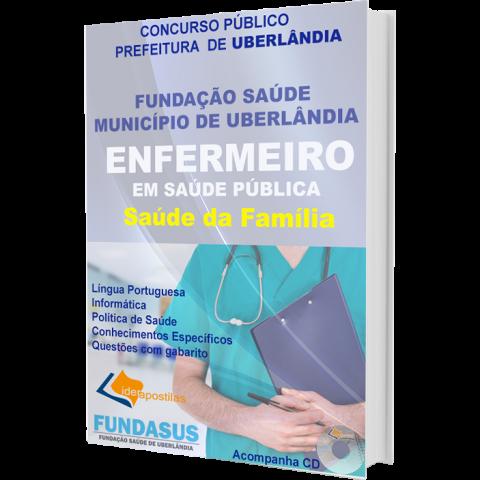 Apostila Enfermeiro  Saúde da Família - Fundasus - Uberlândia