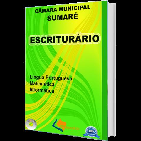 Apostila Escriturário da Câmara Municipal de Sumaré