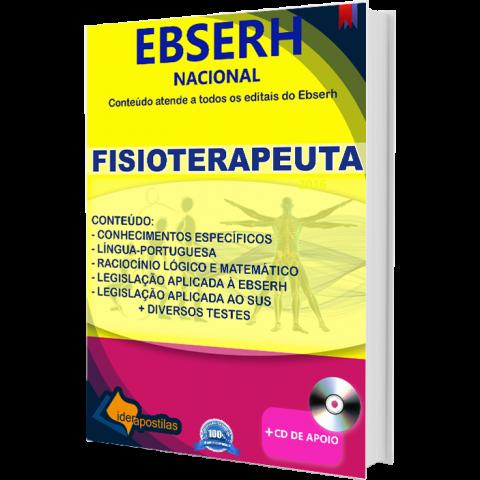 Apostila Fisioterapeuta Ebserh - Nacional 2018 para todos os Estados