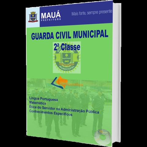 Apostila Guarda Civil Municipal 2ª classe - Prefeitura de Mauá