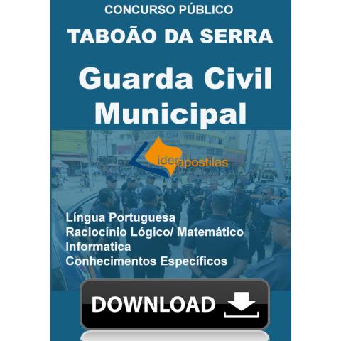 Apostila Guarda Civil Municipal de Taboão da Serra - download