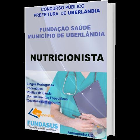 Apostila Nutricionista Fundasus  Uberlândia