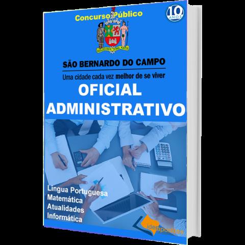 Apostila Oficial Administrativo São Bernardo do Campo - impressa