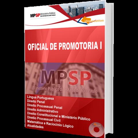 Apostila Oficial de Promotoria do Ministério Público  MP-SP