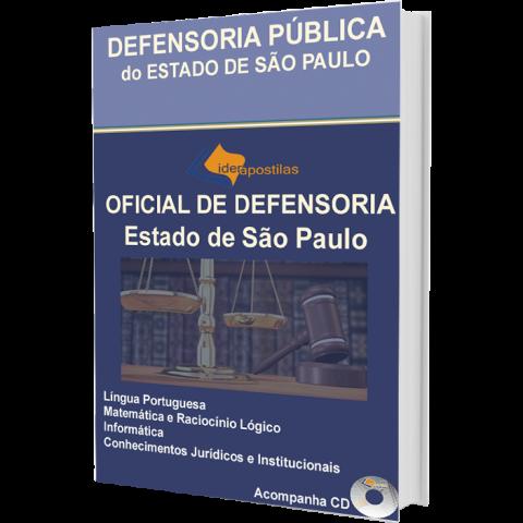 Apostila Oficial Defensoria Pública do Estado de São Paulo - 2015