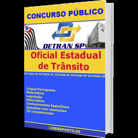 Apostila Oficial Estadual de Trânsito Detran SP - completíssima - material impresso + CD