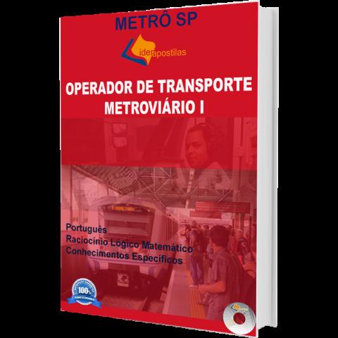Apostila Operador Transporte Metroviário I - Metrô SP 2017
