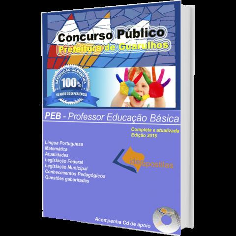 Apostila Professor de Educação Básica - Concurso Prefeitura de Guarulhos 2016