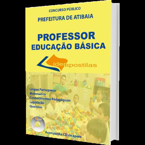 Apostila Professor de Educação Básica de Atibaia