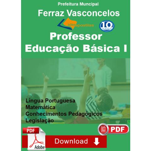Apostila Professor de Educação Básica I  - Ferraz Vasconcelos -Download