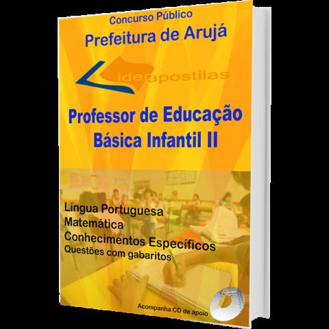 Apostila Professor de Educação Básica Infantil II - Prefeitura de Aruja