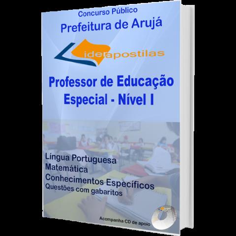 Apostila Professor de Educação Especial – Nível I  da Prefeitura de Arujá