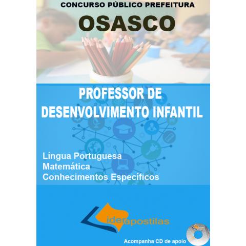 Apostila Professor Desenvolvimento Infantil I - Osasco