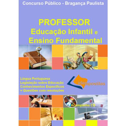 Apostila Professor Educação Infantil e Ensino Fundamental - Bragança Pta.