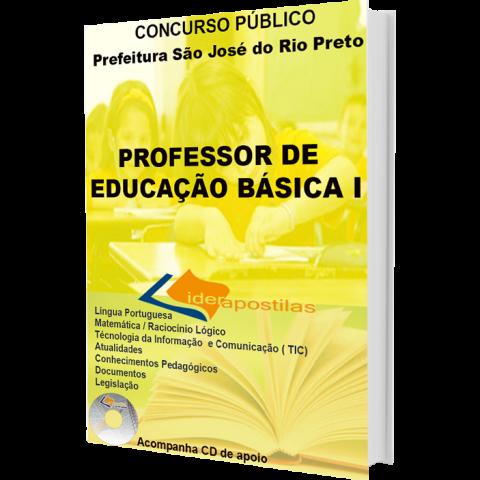Apostila  Professor Peb I - Educação Básica I - São Jose Rio Preto
