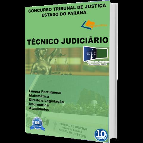 Apostila Técnico Judiciário TJ - PR  Edição  2018