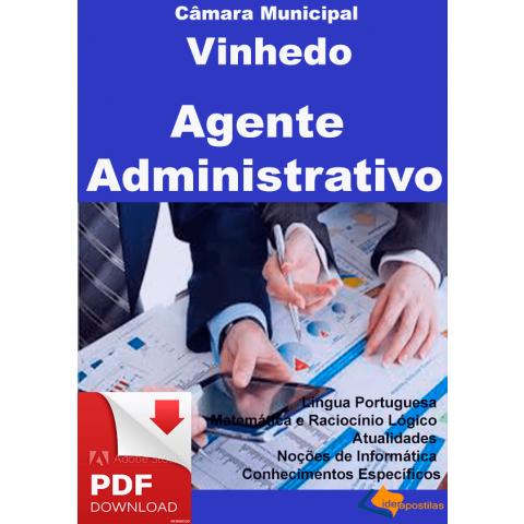Concurso Agente Administrativo Vinhedo