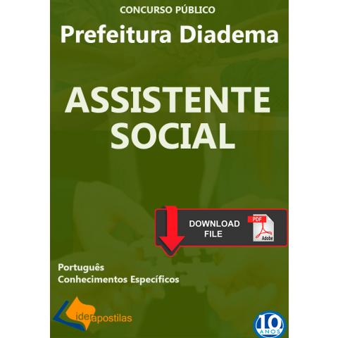 Apostila Assistente Social diadema