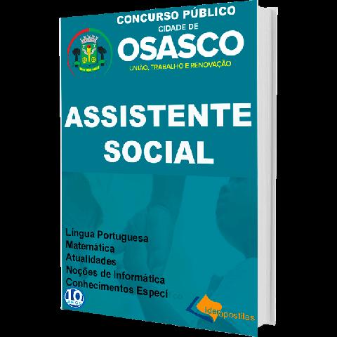 Concurso Prefeitura Osasco Assistente Social