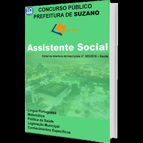 Apostila Concurso Prefeitura Suzano Assistente Social