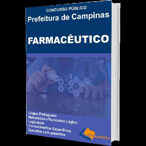 Apostila Farmacêutico Prefeitura de Campinas