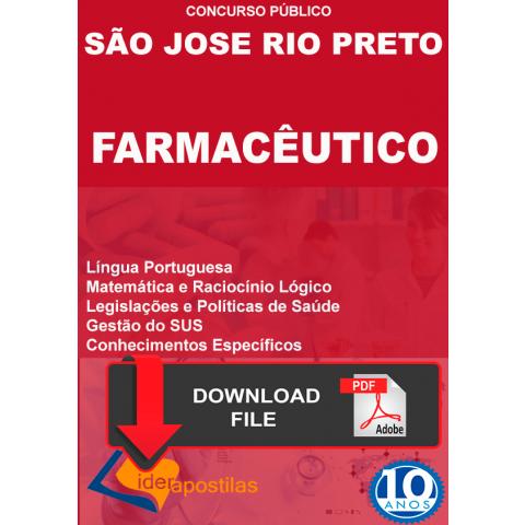 Apostila Digital Farmacêutico Rio Preto
