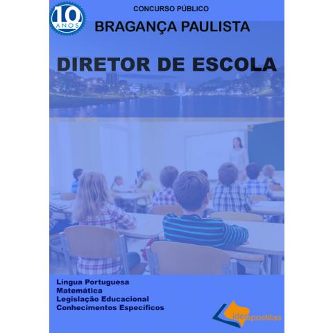Apostila Diretor Escola Bragança