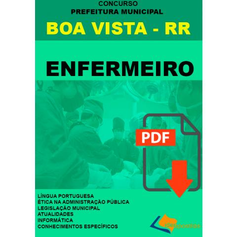 Apostila Enfermeiro Boa Vista
