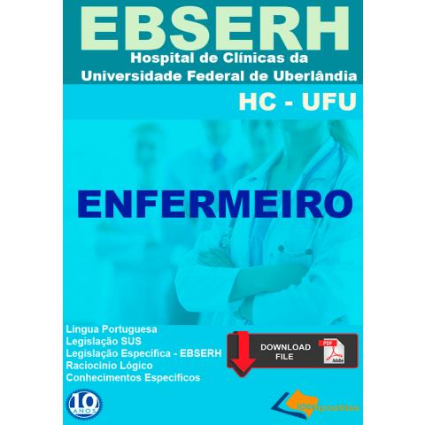 Concurso Enfermeiro do Ebserh Uberlandia