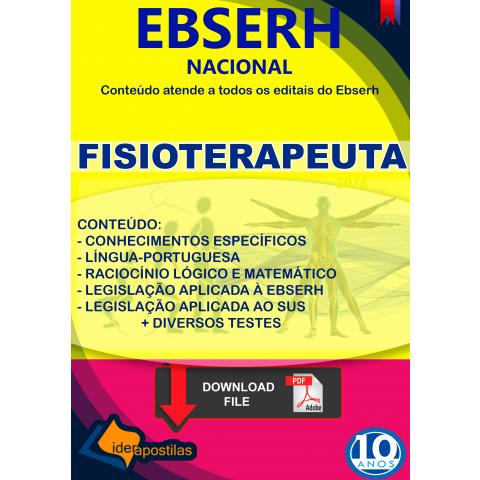Concurso Fisio Ebserh